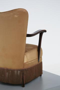 Osvaldo Borsani Osvaldo Borsani armchair for ABV beige in original fabric published 1950s - 1557553