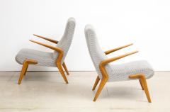 Osvaldo Borsani P71 Lounge Chairs by Osvaldo Borsani for Tecno - 1650026