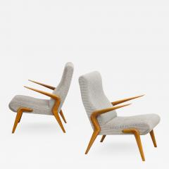 Osvaldo Borsani P71 Lounge Chairs by Osvaldo Borsani for Tecno - 1676350