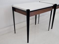 Osvaldo Borsani Pair of Osvaldo Borsani P68 Side Tables by Tecno - 1582474