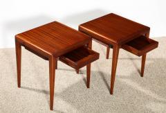 Osvaldo Borsani Pair of Rare Low Side Tables by Osvaldo Borsani - 886515