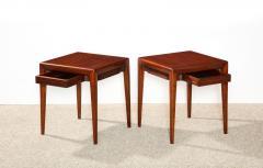 Osvaldo Borsani Pair of Rare Low Side Tables by Osvaldo Borsani - 886516