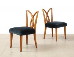 Osvaldo Borsani Rare Pair of Side Chairs by Osvaldo Borsani for ABV - 1906534
