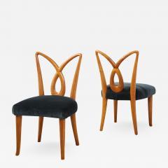 Osvaldo Borsani Rare Pair of Side Chairs by Osvaldo Borsani for ABV - 1907919