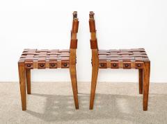Osvaldo Borsani Rare Pair of Side chairs by Osvaldo Borsani - 887359