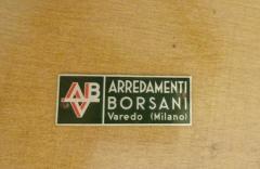 Osvaldo Borsani Rare and Important Center Table in Cherry and Glass by Osvaldo Borsani - 206660