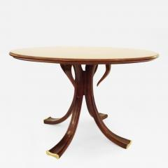 Osvaldo Borsani Rare and Important Center Table in Cherry and Glass by Osvaldo Borsani - 207696