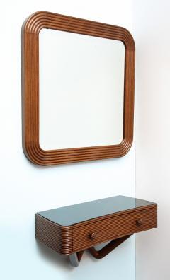 Osvaldo Borsani Wall mounted Console Mirror by Osvaldo Borsani  - 351855