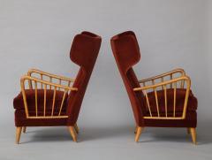Osvaldo Borsani Wing Chairs Model 6053B by Osvaldo Borsani for ABV - 1650285