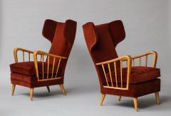 Osvaldo Borsani Wing Chairs Model 6053B by Osvaldo Borsani for ABV - 1650287