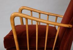 Osvaldo Borsani Wing Chairs Model 6053B by Osvaldo Borsani for ABV - 1650288