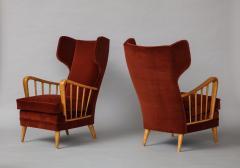 Osvaldo Borsani Wing Chairs Model 6053B by Osvaldo Borsani for ABV - 1650290