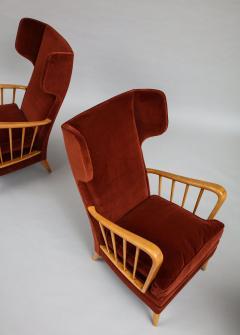 Osvaldo Borsani Wing Chairs Model 6053B by Osvaldo Borsani for ABV - 1650291