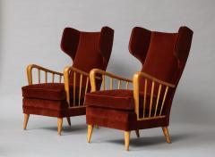 Osvaldo Borsani Wing Chairs Model 6053B by Osvaldo Borsani for ABV - 1650292