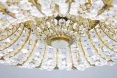 Oswald Haerdtl Oswald Haerdtl Chandelier vor Lobmeyr Austria 1955 Brass and Crystal Glass - 661794