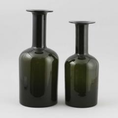 Otto Brauer Pair of Oversized Vases Designed by Otto Brauer for Holmegaard - 1347950