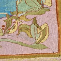 Otto Eckmann Art Nouveau Tapestry AFter Five Swans by Otto Eckmann Germany - 243238
