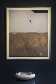 Otto Rogers Floating Triangle With a Circle in a Landscape - 826111
