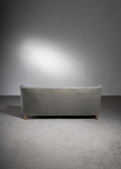 Otto Schultz Scandinavian Modern three seater sofa with grey wool upholstery - 2006298