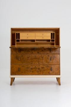 Otto Schultz Swedish Modern Bureau by Otto Schulz for Boet 1940s - 1620142