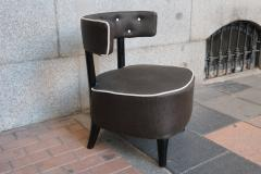 Otto Schulz A pair of armchairs by Otto Schulz Sweden 40 - 746631