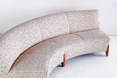 Otto Schulz Important Otto Schulz Curved Four Seat Sofa for Boet Sweden Mid 1940s - 1786560