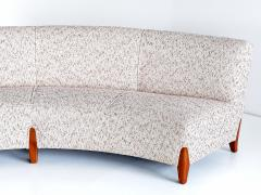 Otto Schulz Important Otto Schulz Curved Four Seat Sofa for Boet Sweden Mid 1940s - 1786564