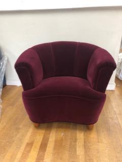 Otto Schulz Otto Schulz Velvet Club Chair - 981976