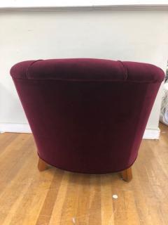 Otto Schulz Otto Schulz Velvet Club Chair - 981984