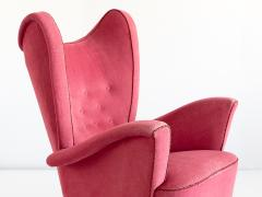 Otto Schulz Otto Schulz Wingback Armchair for Boet Sweden Late 1940s - 1185481