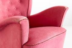 Otto Schulz Otto Schulz Wingback Armchair for Boet Sweden Late 1940s - 1185483