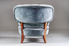 Otto Schulz Pair of Scandinavian Midcentury Easy Chairs by Otto Schulz - 902420