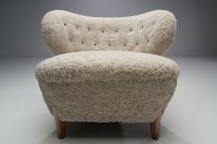 Otto Schulz Schulz Lounge Chair by Otto Schulz for Jio M bler J nk ping Sweden ca 1940 - 1864725