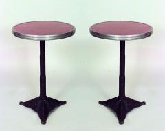 Outdoor Painted Iron Cafe Table - 1429637