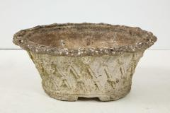 Oval Basket Weave Planter - 1581662