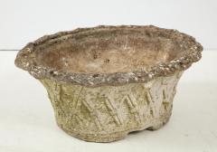 Oval Basket Weave Planter - 1581666