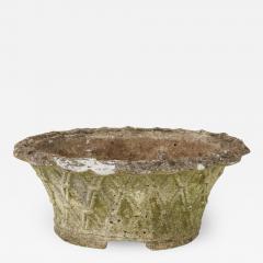 Oval Basket Weave Planter - 1582787