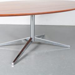 Oval Dining Table by Florence Knoll for Knoll International USA 1970 - 1550064