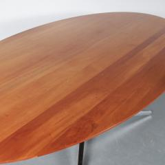 Oval Dining Table by Florence Knoll for Knoll International USA 1970 - 1550065