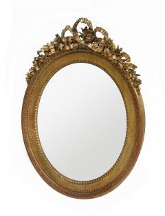 Oval Louis XVI Giltwood mirror - 96620
