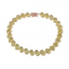 Oval Peridot Bracelet - 2080823