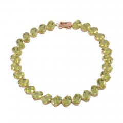 Oval Peridot Bracelet - 2081631