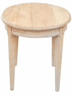 Oval Pine Table - 1757433