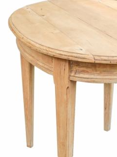 Oval Pine Table - 1757438