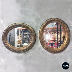 Oval gold mirrors 1900s - 2089126