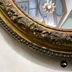 Oval gold mirrors 1900s - 2089179