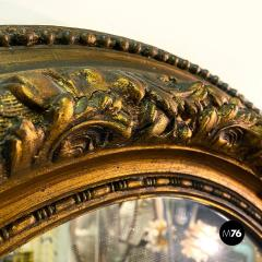 Oval gold mirrors 1900s - 2089180