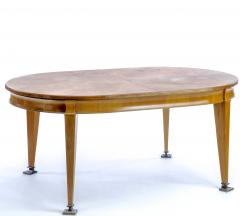 Oval superb Neo classic 40s dinning table with awesome - 1649203