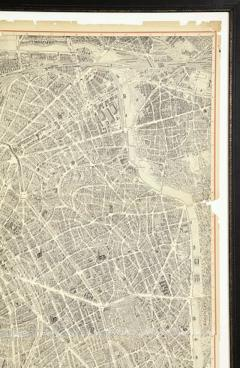 Oversized Map of Paris - 849593