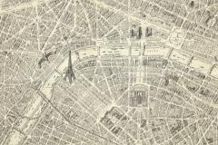 Oversized Map of Paris - 849598